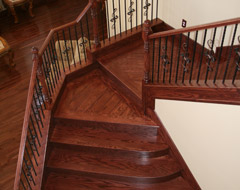 Custom Solid Wood Treads